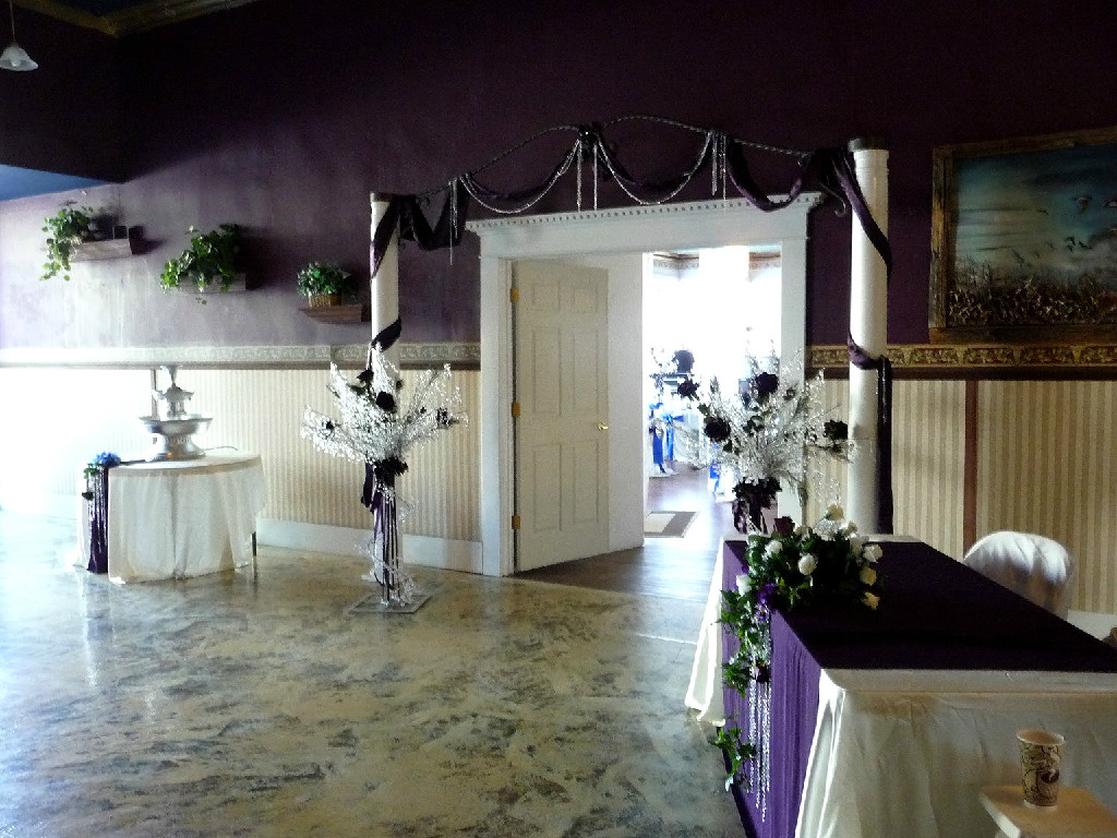 Evening Star Banquet Hall Entry